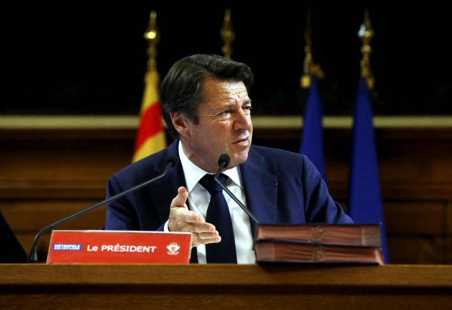 """Le maire de Nice et président de la Métropole déplore régulièrement ne pas être """"entendu"""""""