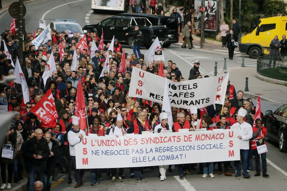 Pour Didier Gamerdinger, les manifestations sont dans la façon de fonctionner de l'USM.