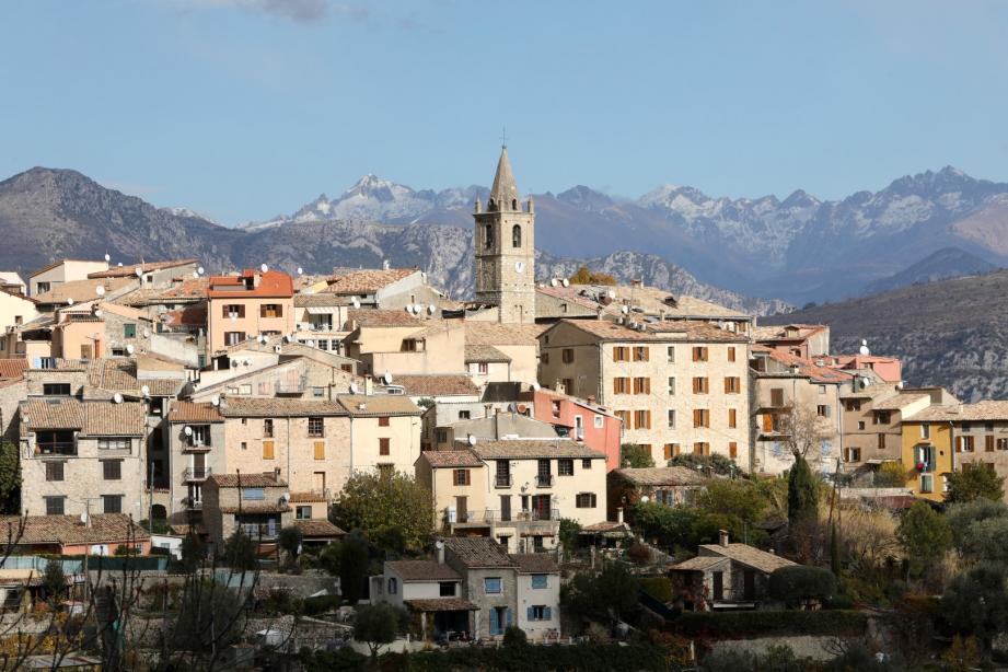 Le village du Broc.