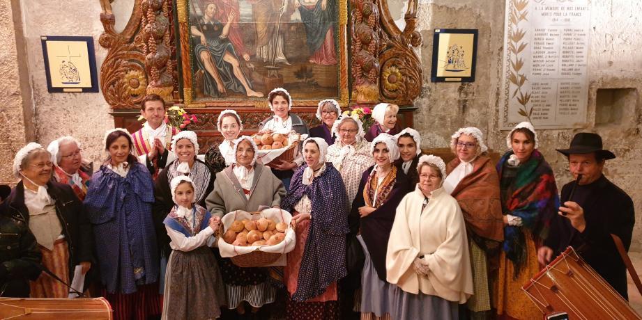 Les Monsoises ont honoré Sainte-Agathe comme il se doit.