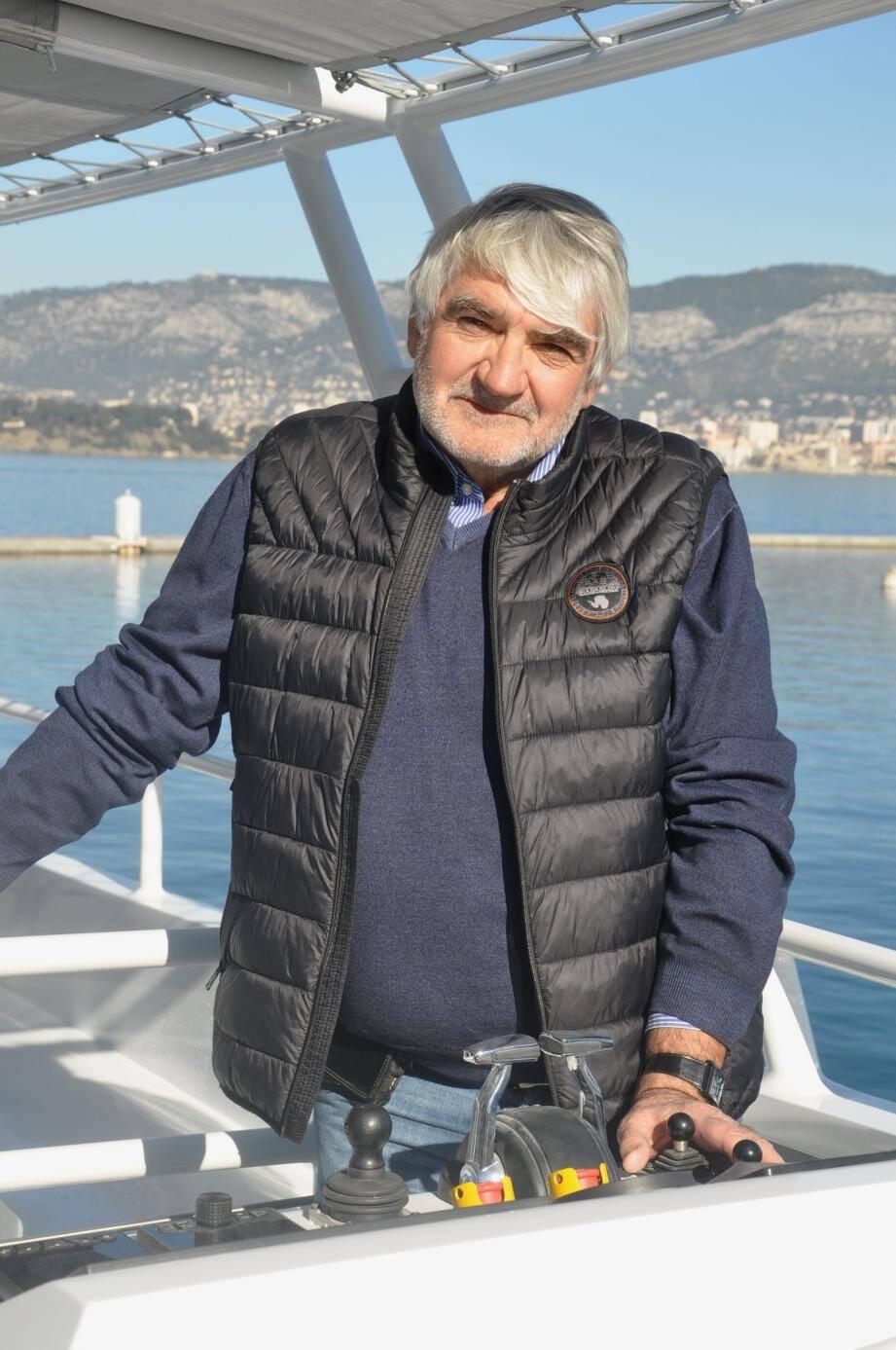 Mis à l'eau la semaine dernière, le Rivage Croisière II, peut transporter 200 passagers.