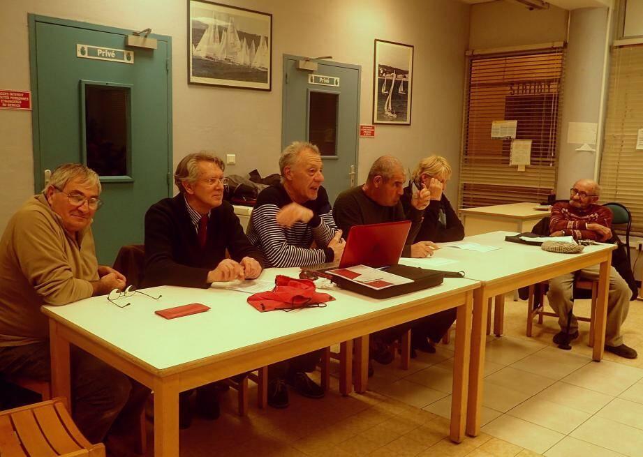 Jean-Louis Bigeard, Daniel Blech et Christian Barlo ont représenté la ville aux côtés du président Jean Fioretti.
