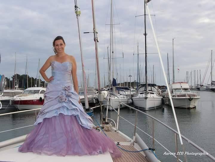 Le port de Saint-Tropez, parfait pour ses photos de mariage !