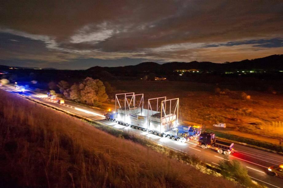 Exemple de convoi ITER.