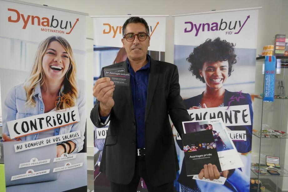 Séduit par le concept, Olivier Navarro est devenu ambassadeur de Dynabuy dans le Var.       (AM)