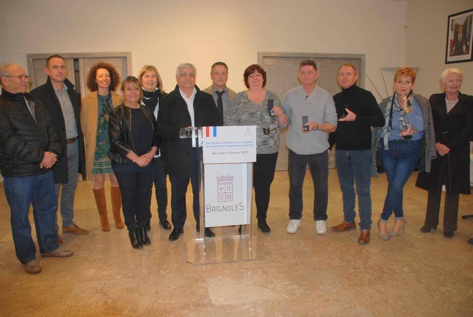 Véronique Mouren, Laurent Lalouette et Jean-Paul Bourdin chaudement félicités par les élus.