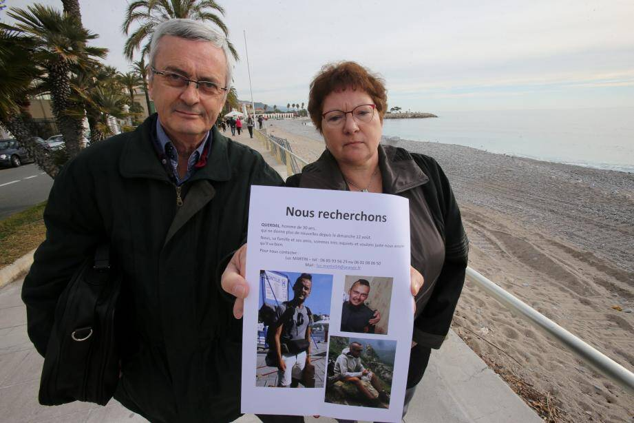 Depuis le 13 août, Régine et Luc Martin recherchent leur fils.