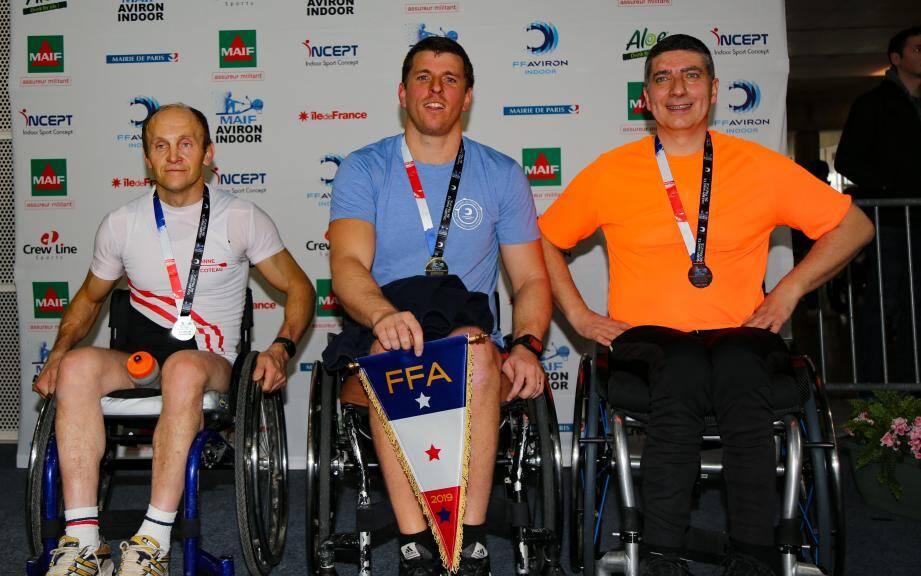 Julien Hardi a été sacré champion de France au stade Charléty.