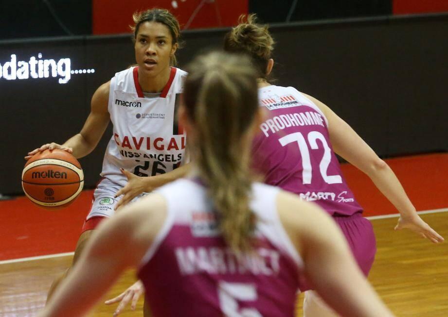 Carla M'Baye et les Niçoises n'ont plus beaucoup le droit à l'erreur cette saison...