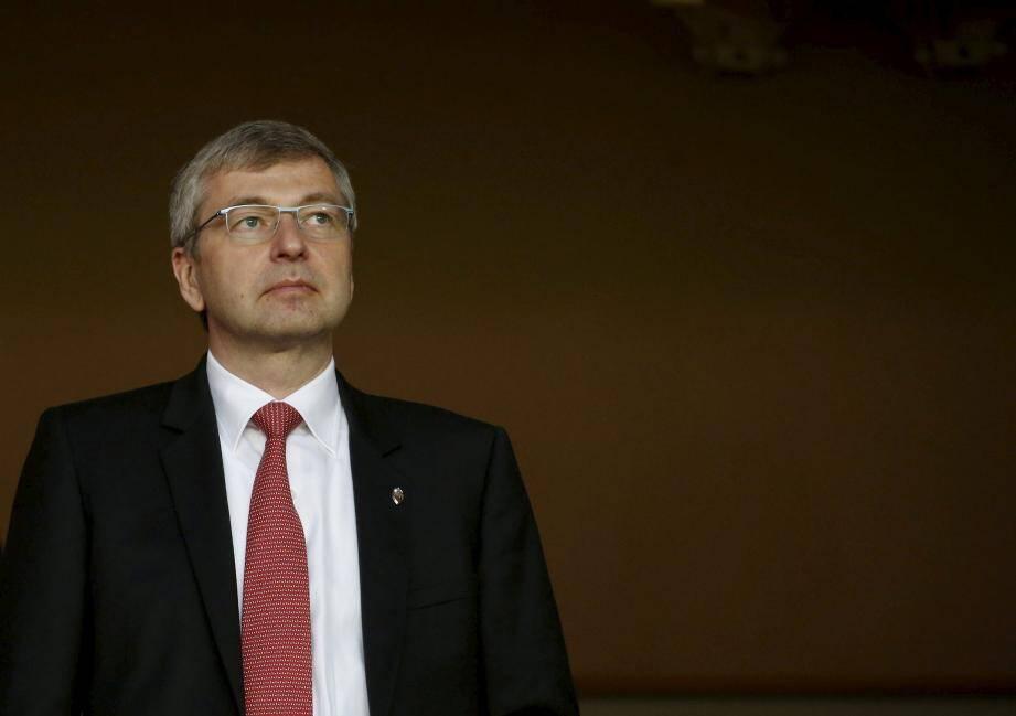 Le président Dmitry Rybolovlev devrait être présent au Stade Louis-II aujourd'hui.