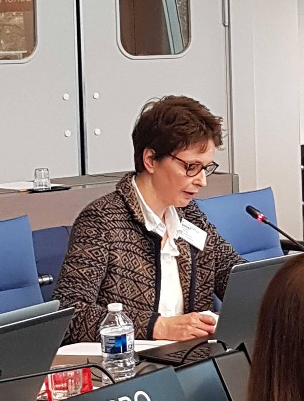 Marie-Noëlle Albertini, conseiller diplomatique auprès du Conseille-ministre des Relations Extérieures et de la Coopération.