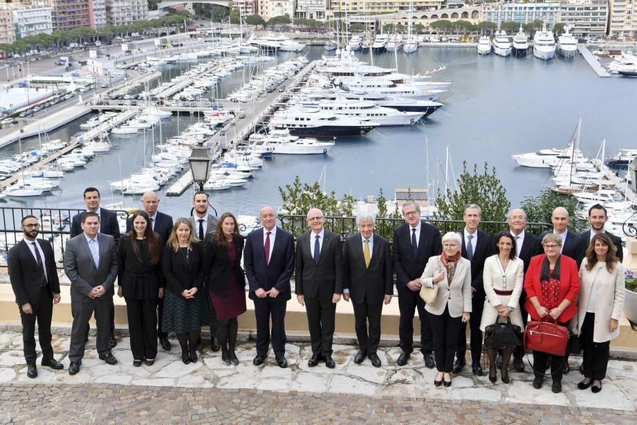 Une délégation de l'UE s'est rendue en Principauté le 12 février dernier.