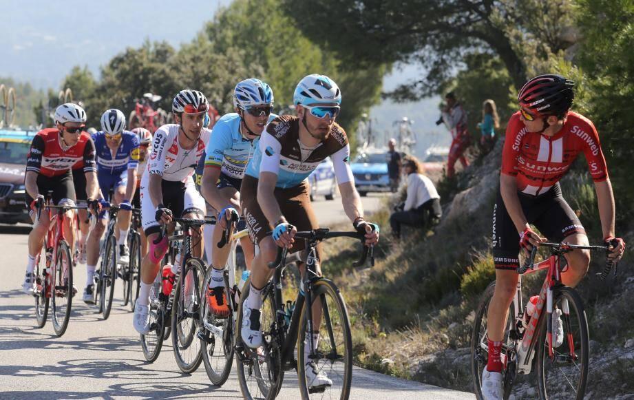 Après s'être mis à l'abri dans la montée du Brûlat, Philippe Gilbert a facilement pris le dessus dans la dernière ligne droite pour s'imposer sur le circuit du Castellet.