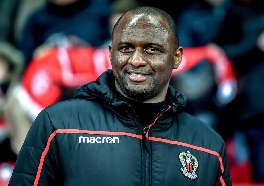 Patrick Vieira a assisté impuissant à la défaite de son équipe.