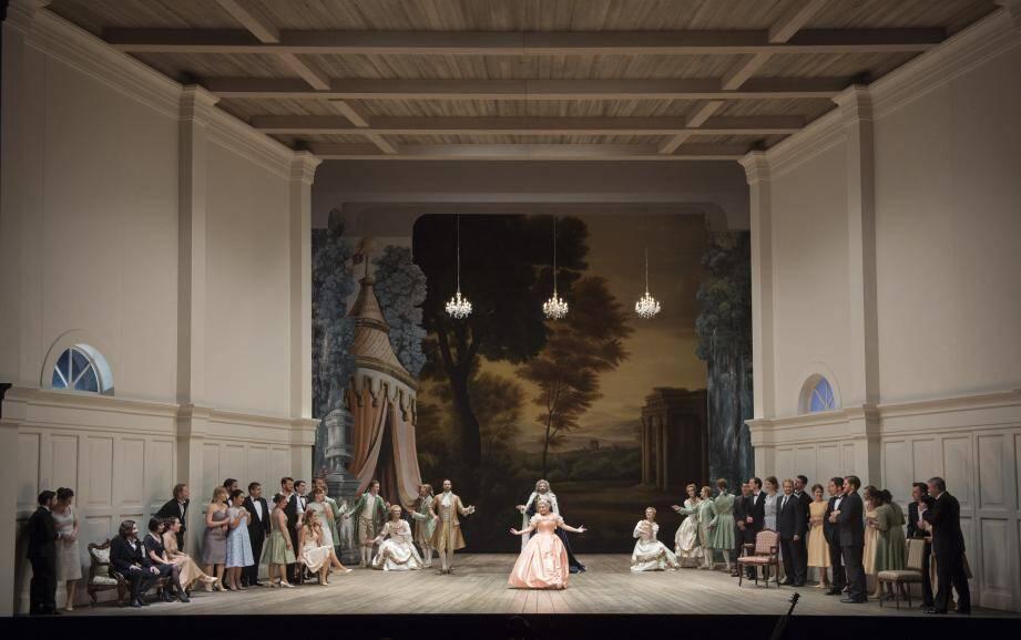 Les représentations d'Ariodante auront lieu à partir de vendredi. Attention: début de la représentation à 19 heures, le spectacle dure quatre heures.