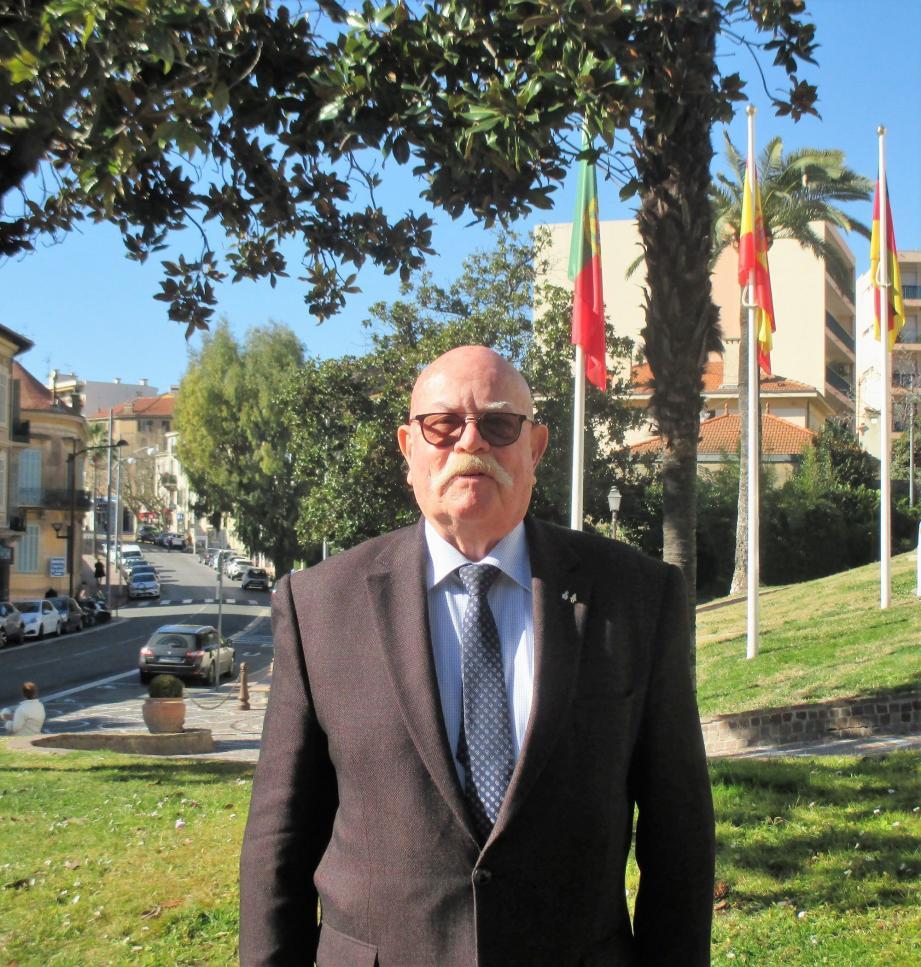 Jean-Pierre Bontoux était la figure emblématique de l'Amicale de la Légion Étrangère. Il sera désormais vice-président.