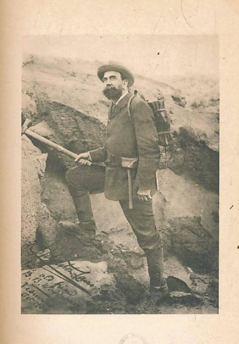 Le docteur Johnston-Lavis, féru de vulcanologie a lancé les premières recherches archéologiques à Beaulieu-sur-Mer, à la fin du XIXe siècle.(Repro A. P.-B.)