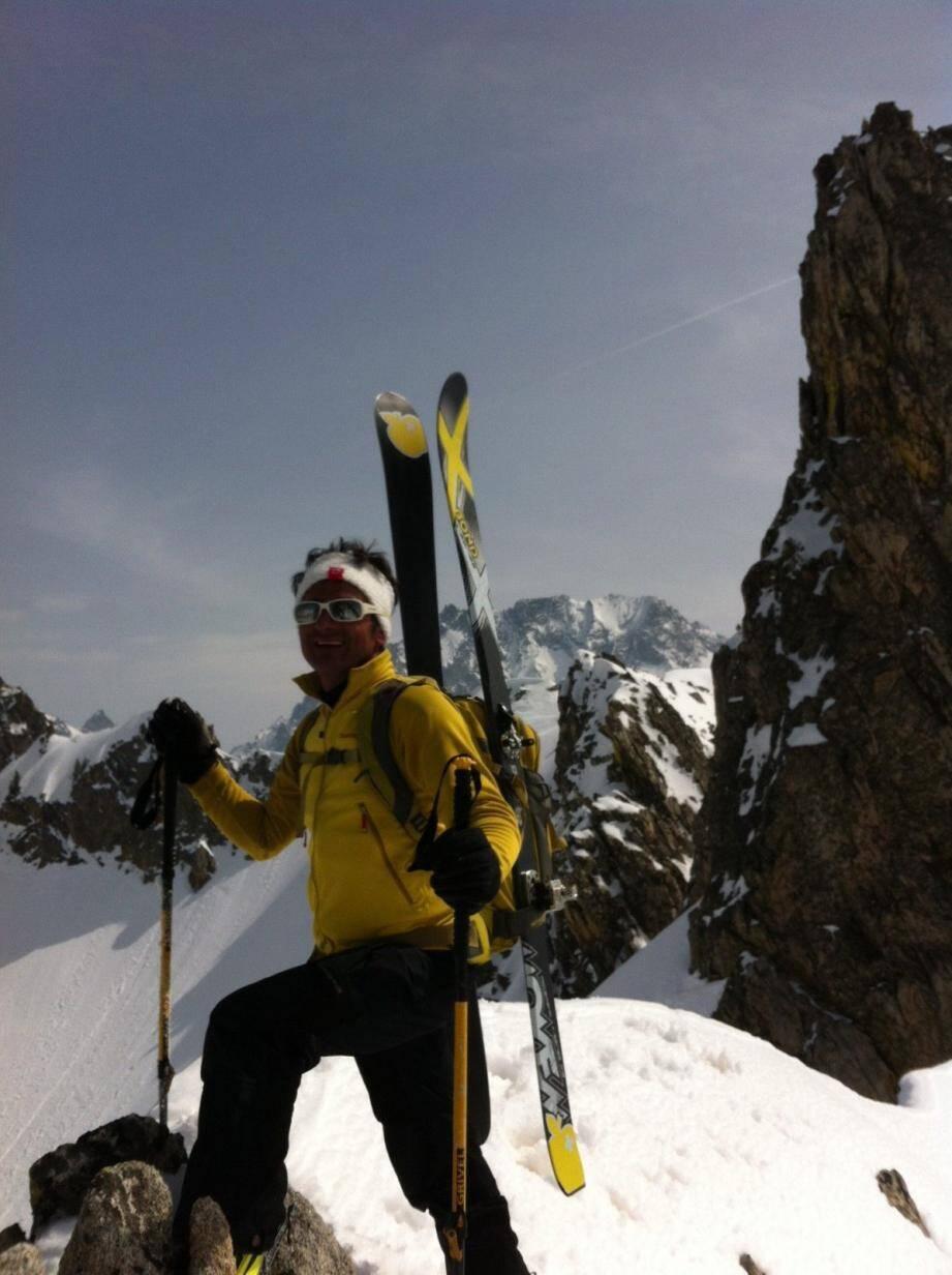 Jean-Philippe Bracchi, montagnard de 53 ans, a trouvé la mort le 31 juillet 2014 sur le chantier où il intervenait avec quatre ouvriers.(DR)