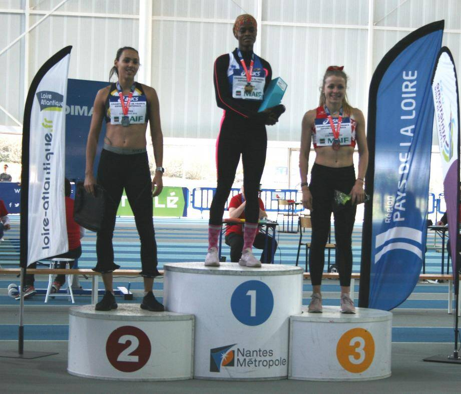 1er podium pour Jessica Ratti sur 400 m.