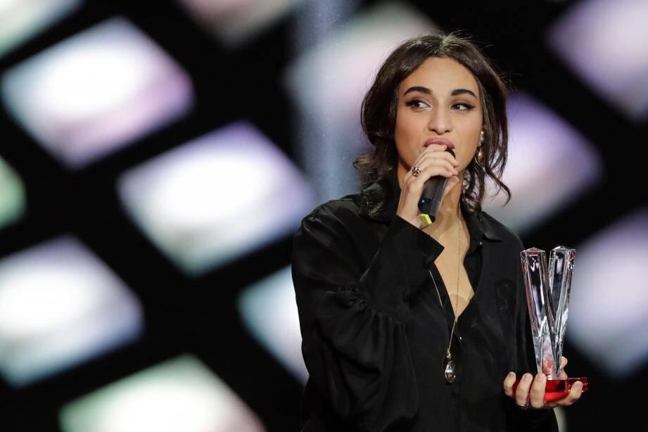 La Varoise Camélia Jordana a remporté une Victoire de la Musique ce vendredi soir.