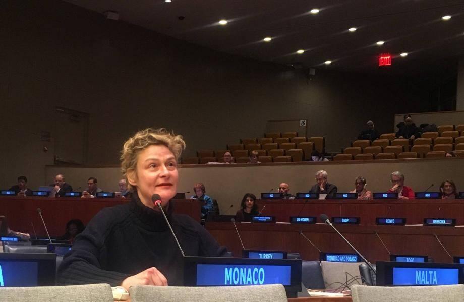 Clotilde Ferry, conseillère à la Mission Permanente de la Principauté de Monaco auprès des Nations Unies.