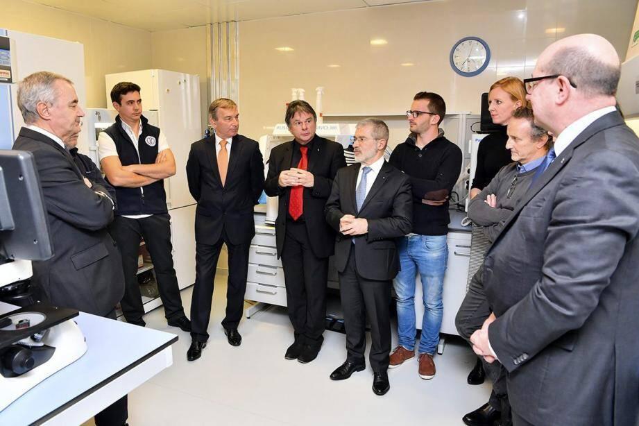 Les équipes du CSM ont mené, grâce au soutien de la Fondation Flavien, des recherches sur les cancers pédiatriques du cerveau.