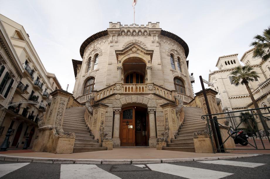 Le tribunal de Monaco.