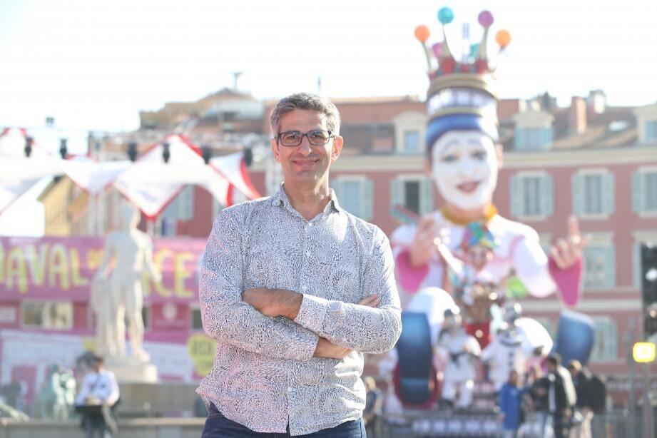 Pascal Giordano. L'artiste niçois installé au Brésil a composé la musique du « Roi du Cinéma ». Et ça décoiffe…