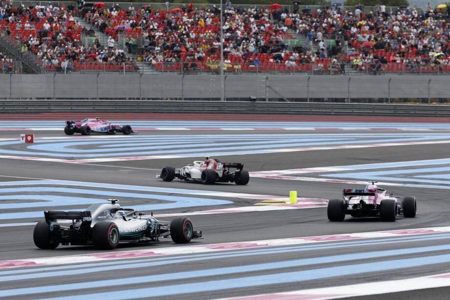 Le Grand Prix de France a fait son retour l'an dernier.