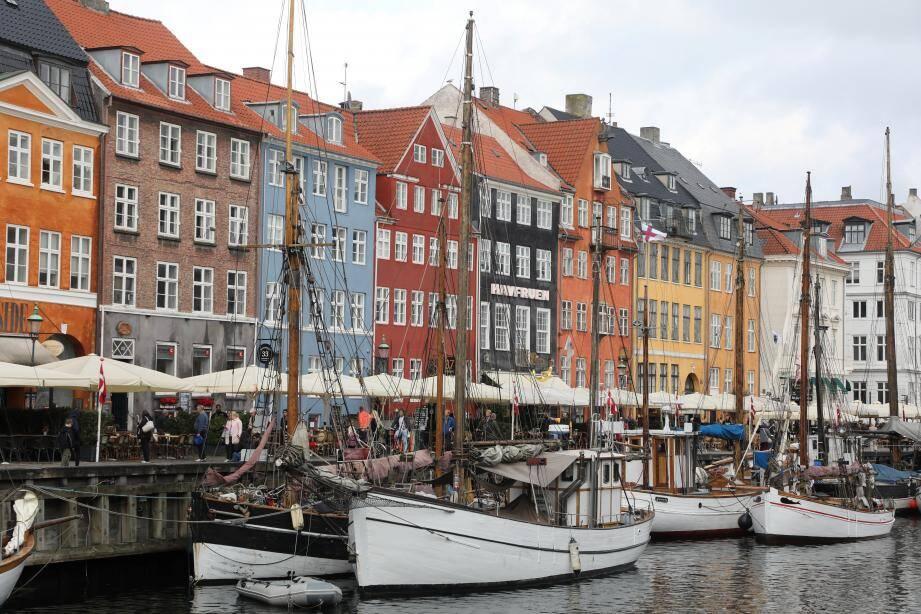 Une photo de Copenhague.
