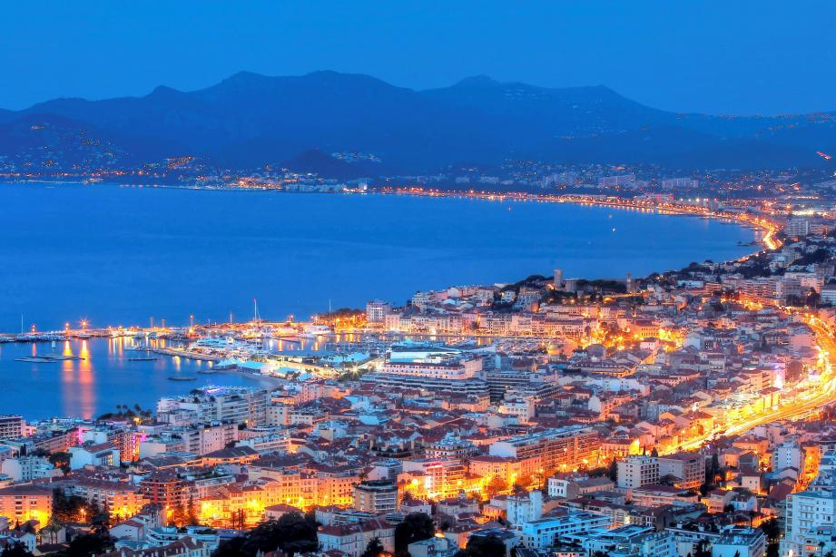 La baie de Cannes.