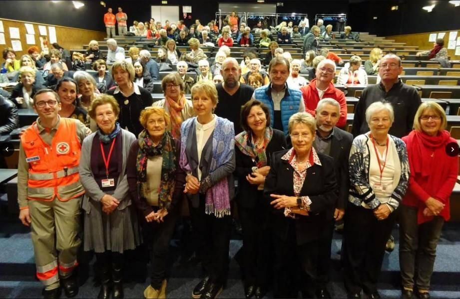 Les responsables et leurs adjoints représentant les dix antennes du département se sont réunis ce week-end à Ollioules, accompagnés d'une partie des bénévoles.