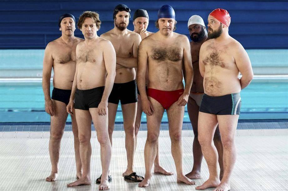 Image tirée du film Le grand bain.