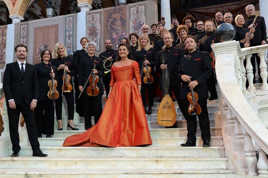 Cecilia Bartoli et les Musiciens du prince.