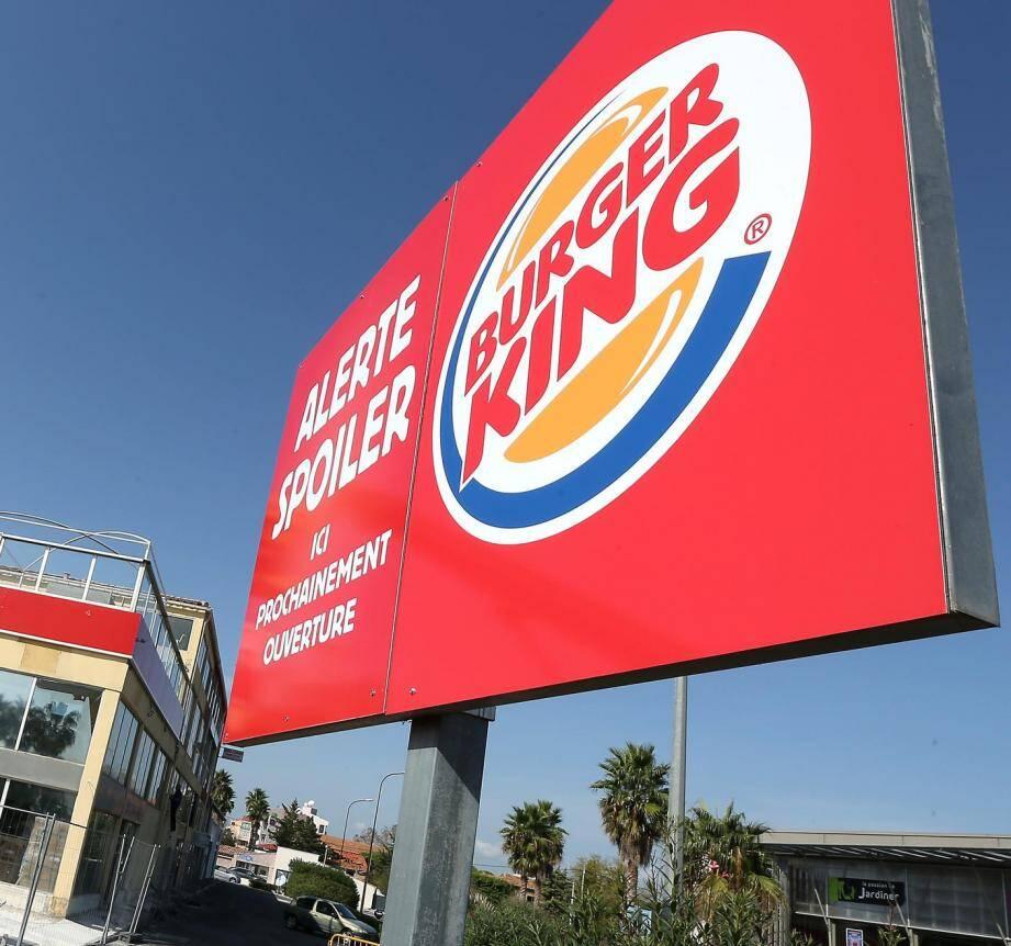 Un Burger King dans le Var.