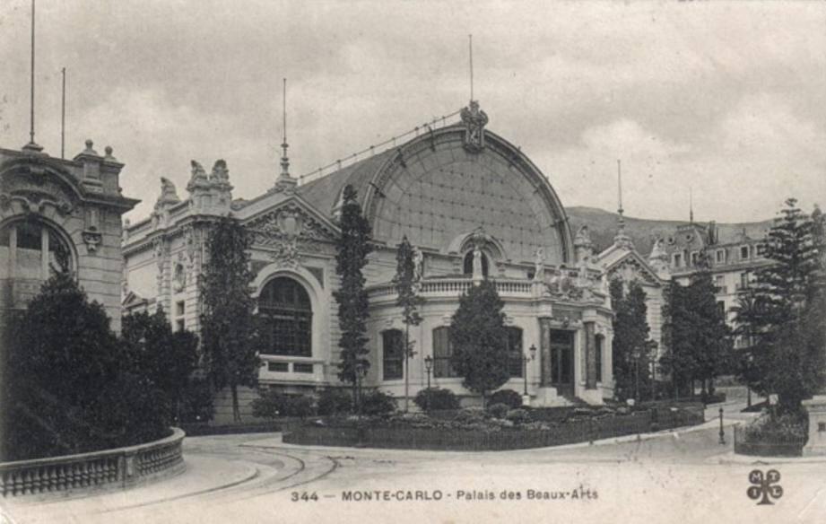 De 1893 à 1930, le Palais des Beaux-Arts était le voisin de l'Hôtel de Paris.
