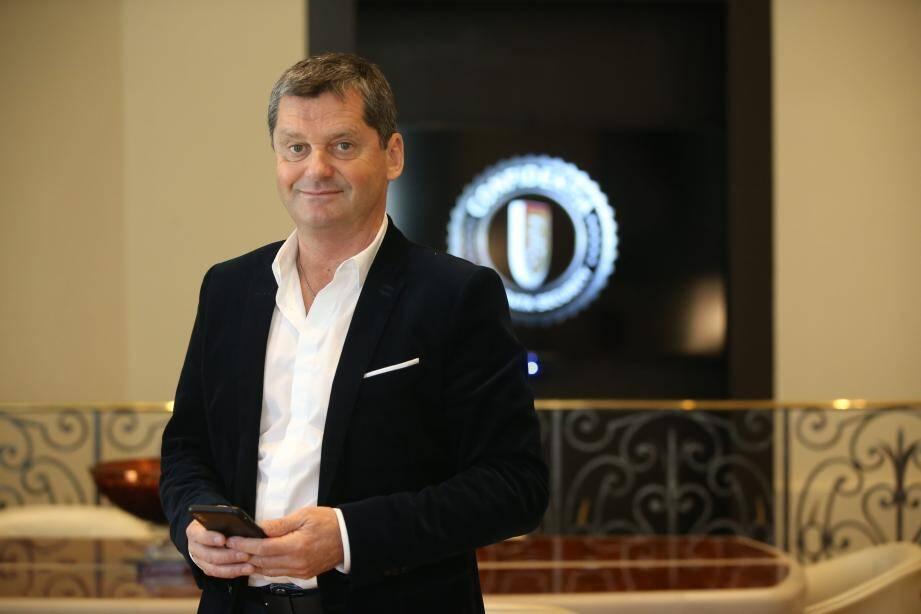 Jean-Philippe Claret, informaticien et dirigeant de l'entreprise Confidentia.