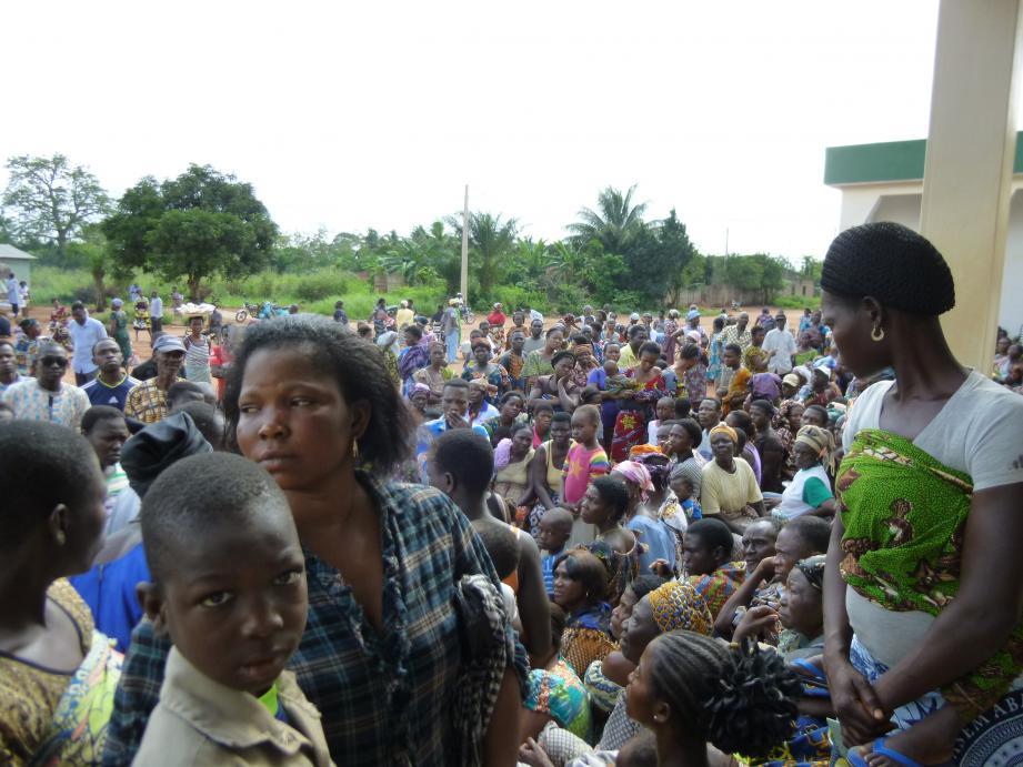 En 2018, la dernière mission au Togo a coûté 10000 euros, sans compter les opérations effectuées à l'hôpital. Plus de 2000 consultations ont été recensées en quinze jours d'actions.