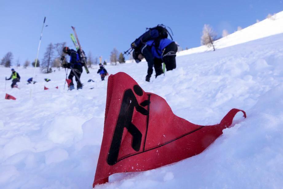 Le PGHM (ci-dessus, le 17 décembre dernier à Isola 2000) et les CRS ont réalisé des exercices de sauvetage grandeur nature, comme chaque année, en début de saison.