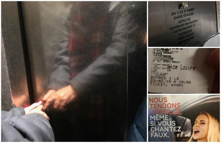Le voyage a été long. Très long. Près d'une heure dans un ascenseur immobilisé au sixième sous-sol d'un parking.
