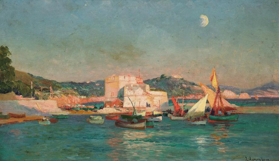 """Le Fort Saint Louis à Toulon"", de Louis-Dominique Lamontagne."