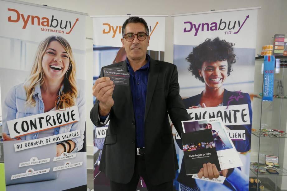 Séduit par le concept, Olivier Navarro est devenu ambassadeur de Dynabuy dans le Var.