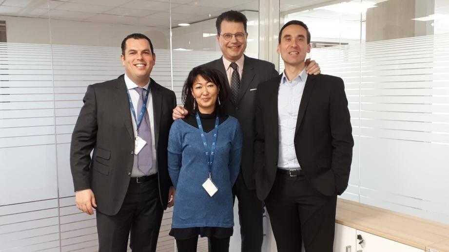 L'équipe du Centre d'affaires de Toulon - La VAlette sera dirigée par Marc de Roincet.