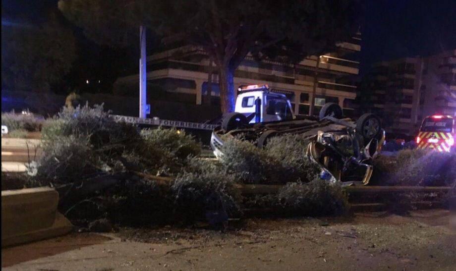 Lors d'un accident à Saint-Laurent-du-Var, c'est un jeune homme qui est décédé.