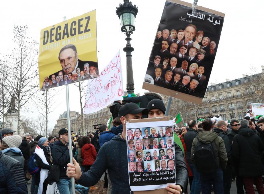 Les manifestations ont repris de plus belle après l'annonce du dépôt de la candidature du président sortant Abdelaziz Bouteflika.