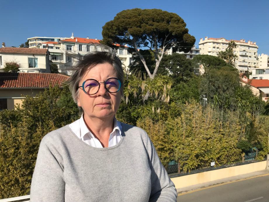 Geneviève Cabiaux exerce depuis 35 ans à Antibes comme architecte paysagiste
