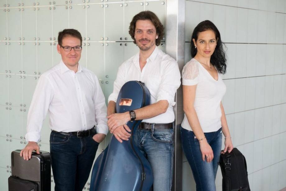 Le trio Goldberg en concert ce vendredi à l'église Saint-Georges.(DR)