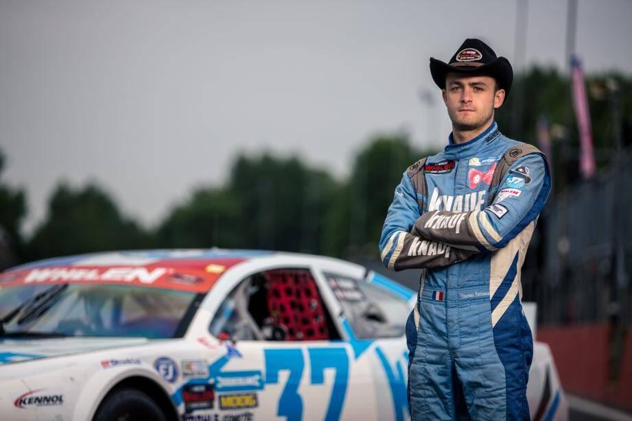 À 21 ans, Thomas Ferrando a été recruté par l'écurie de l'ancien pilote de F1 Alex Caffi.
