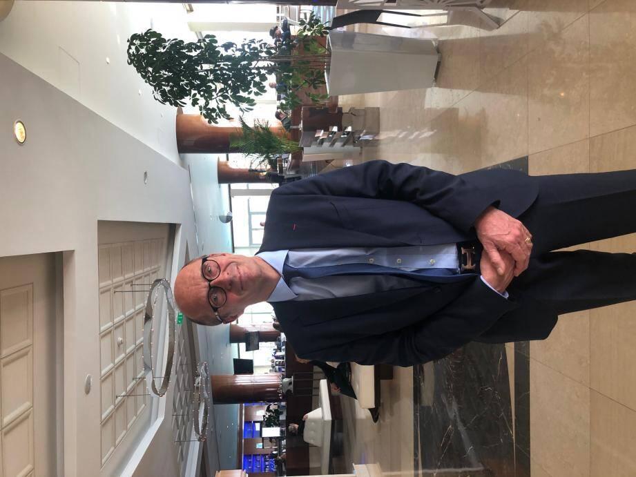 Le docteur Patrick Errard, président du 5e e-healthworld Monaco.