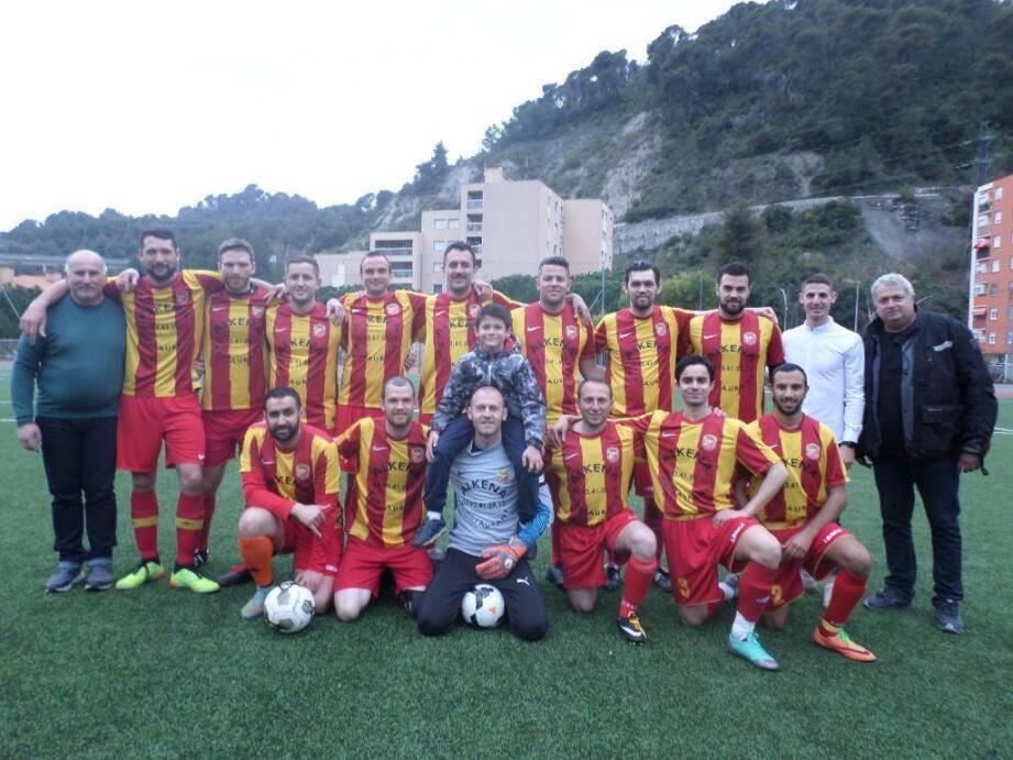 Les Roquebrunois sont en tête du championnat. (DR)